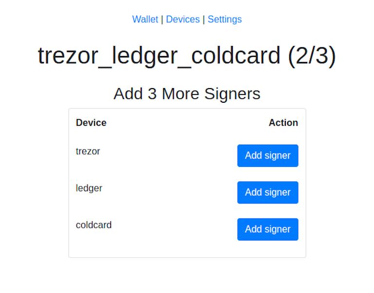 比特币开发者发布多重签名UI,降低全节点和硬件