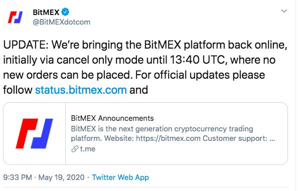"""BitMEX再宕机,合约""""国王""""老矣?-币安资讯网"""