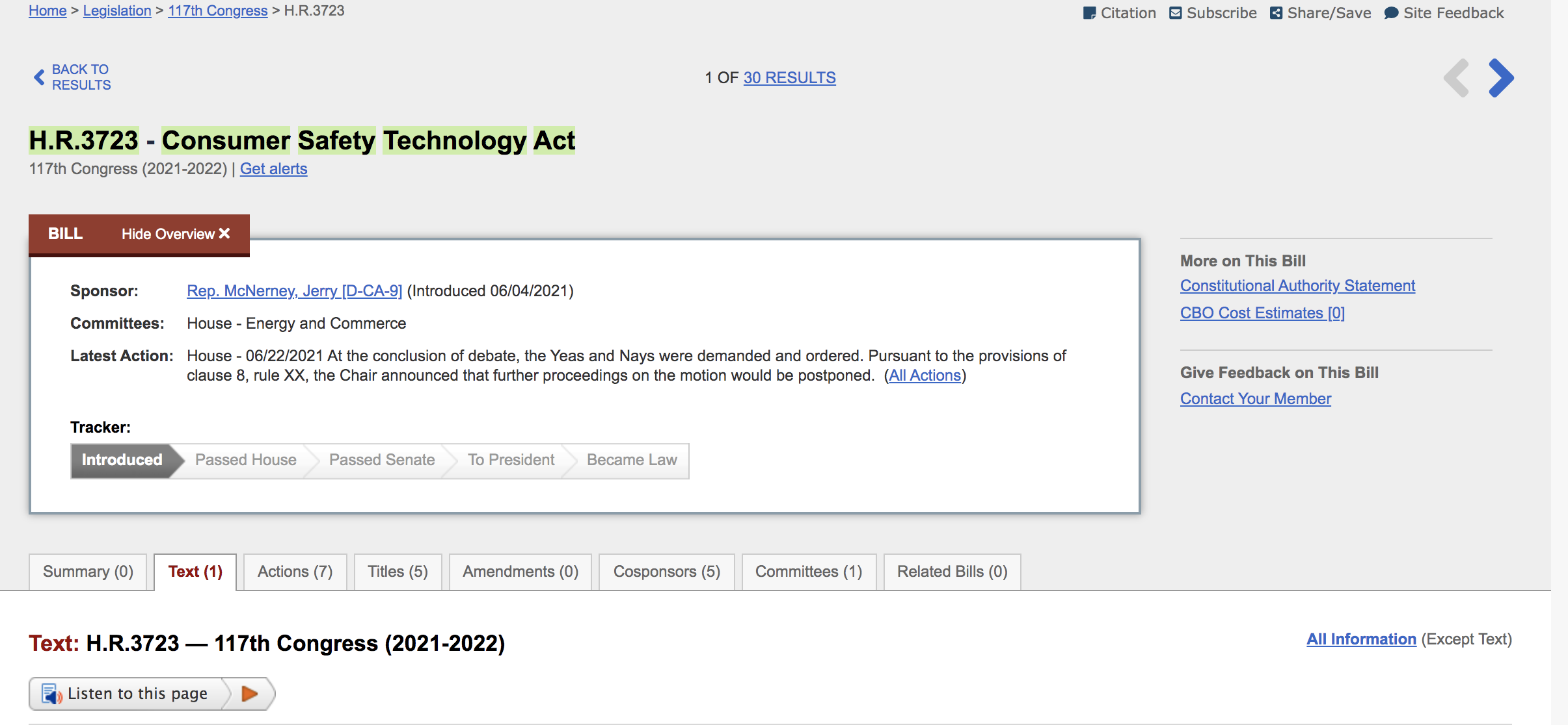 两项加密货币相关法案在美国众议院通过,正前往参议院
