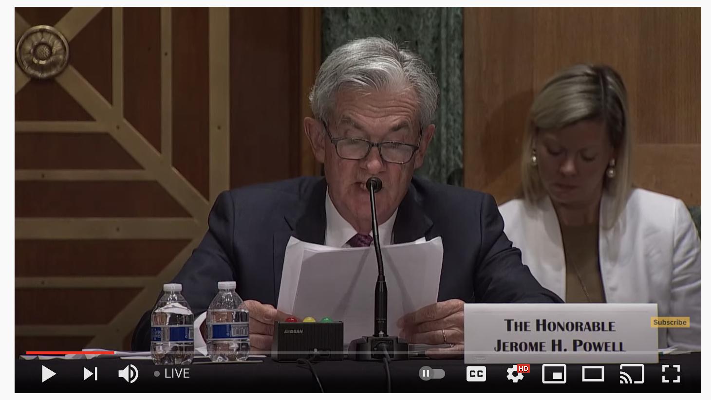 美联储鲍威尔:尚未对CBDC利弊做出决定,加密货币未能成为一种可行的支付方式