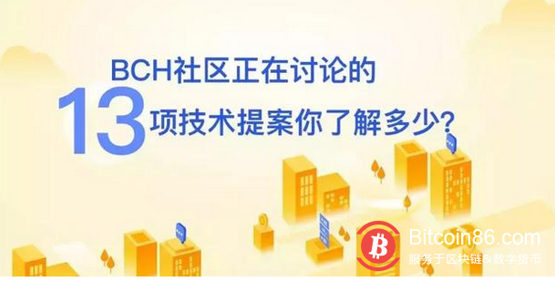 BCH社区正在讨论的13项技术提案你了解多少?