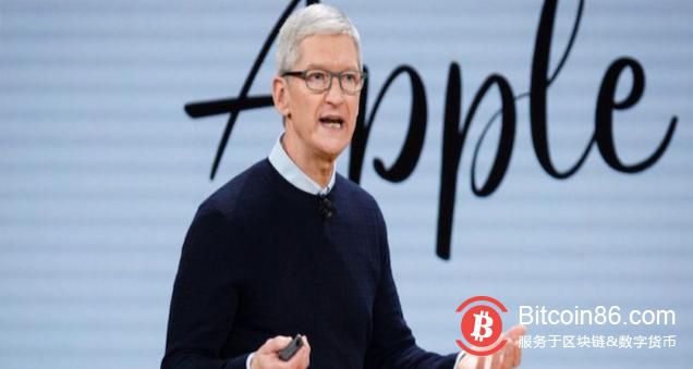 苹果CEO库克:我们不会效仿Facebook发行加密货币