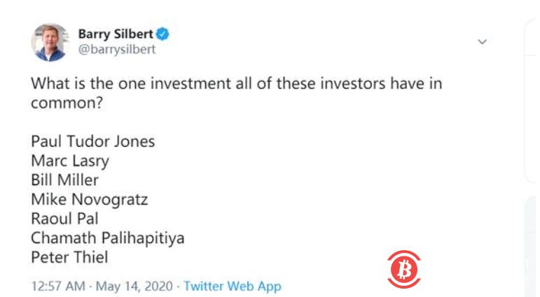 理财师建议不要投资比特币,但华尔街的亿万富翁们却不这么认为