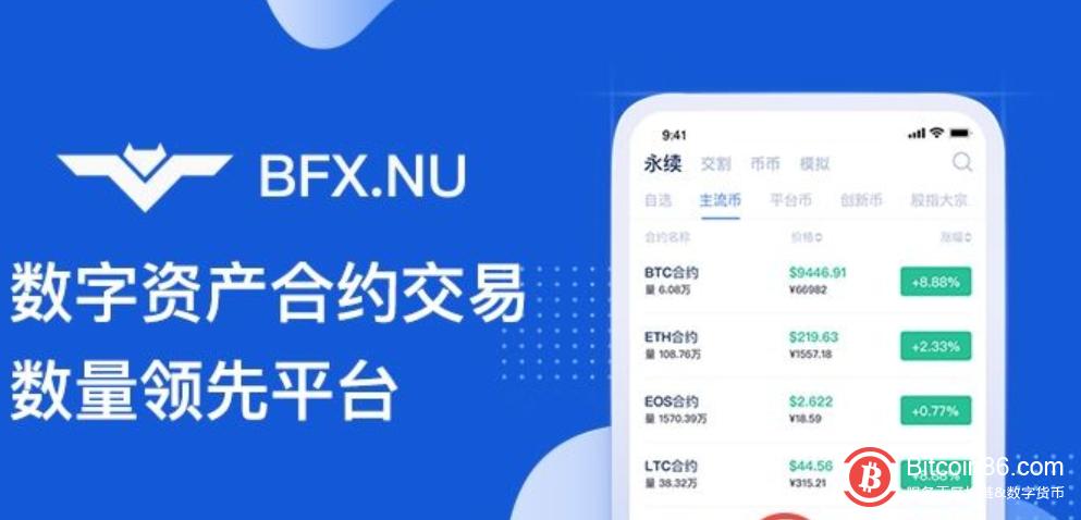 2020年6月30日消息,数字货币行业经营历史最久的合约期货交易所BFX(bfxnu.com)对交割合约交易区作出重大调整。