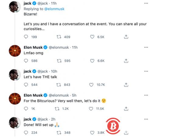 埃隆马斯克和推特CEO确认出席七月举行的加密货币在线会议